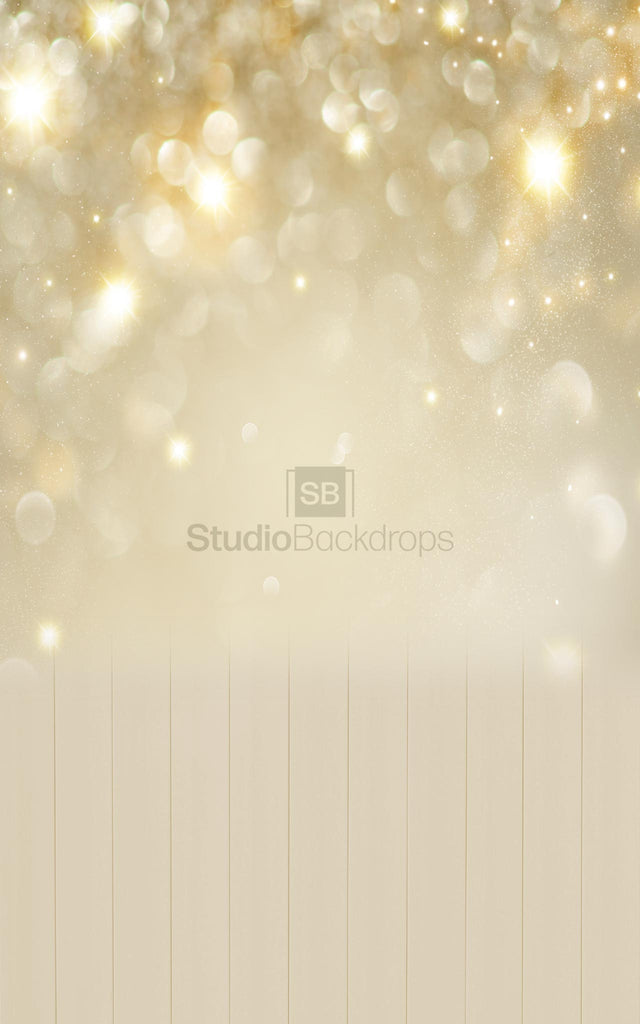 Champagne Bokeh Duo Faded Photography Backdrop Studio Backdrops
