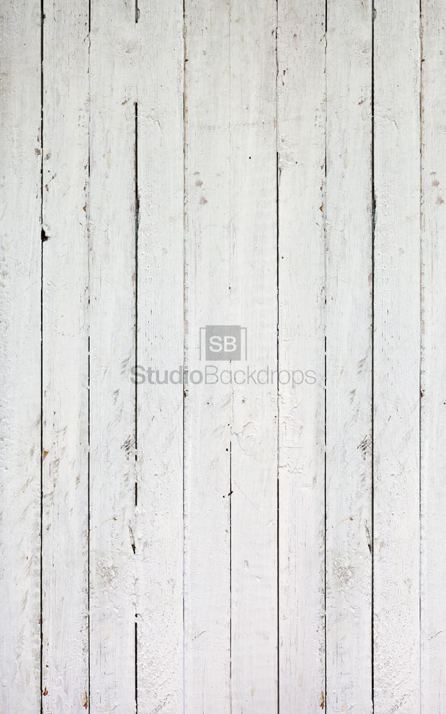 White Floorboards Photography Backdrop