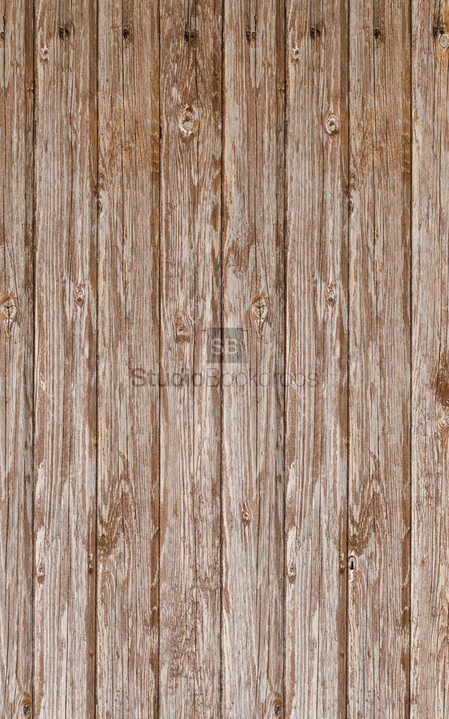 Weathered Wood Floorboards Photography Backdrop