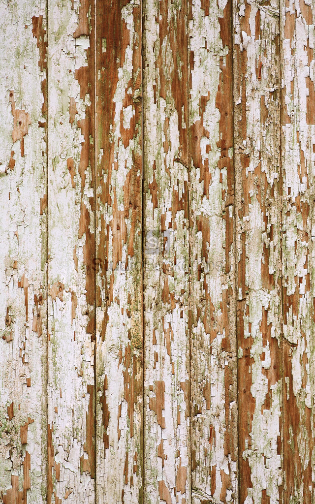Peeling Weathered Wood Photography Backdrop