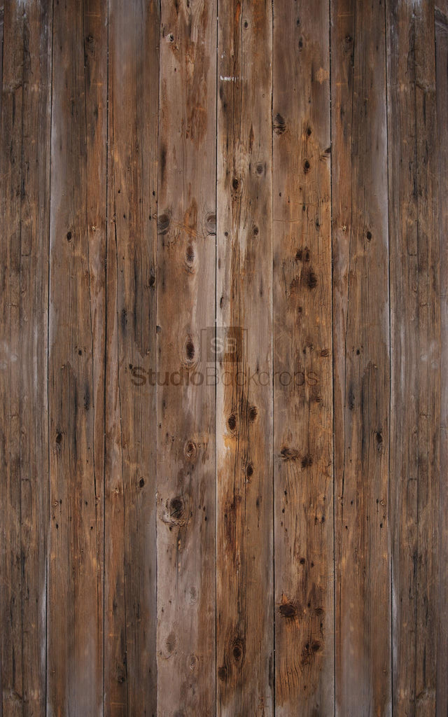 Dark Rustic Wood Photography Backdrop