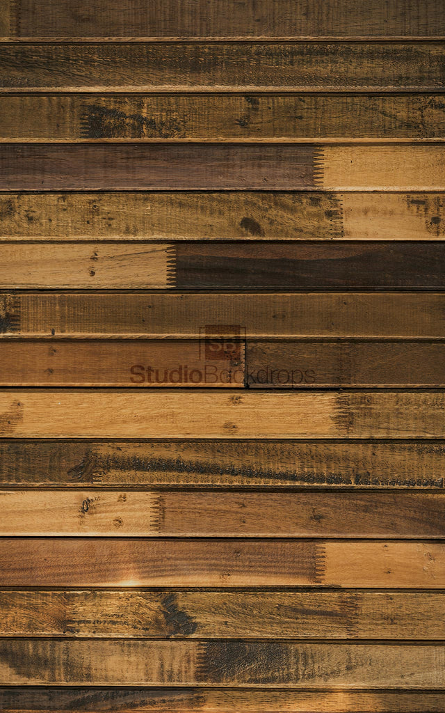 Mismatched Dark Wood Photography Backdrop