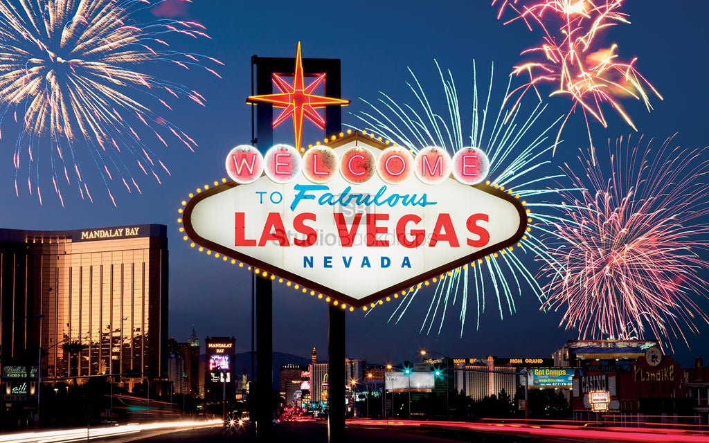 Las Vegas Casino Photo Booth Backdrop BD-255-SCE