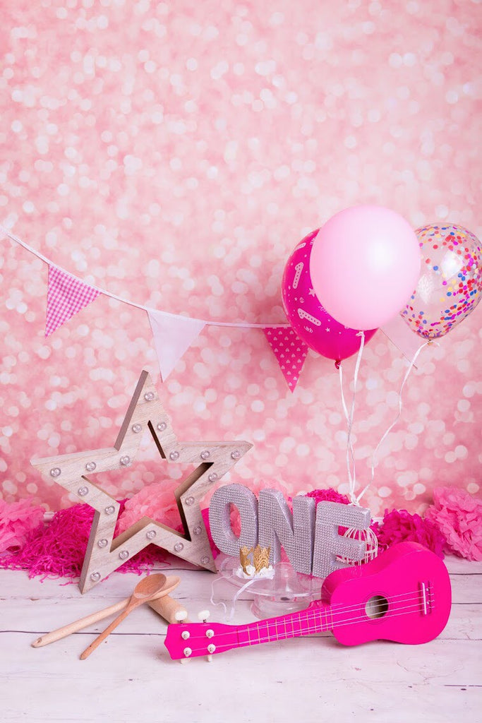 Pink Glitter Photography Backdrop BD-175-BOK