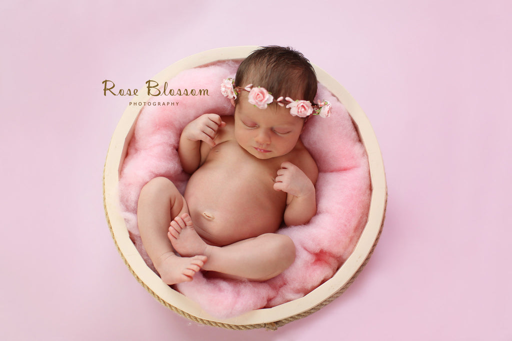 Baby Pink Photography Backdrop BD-182-SOL