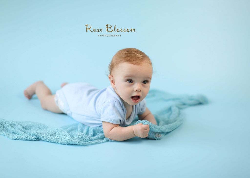 Baby Blue Photography Backdrop BD-200-SOL