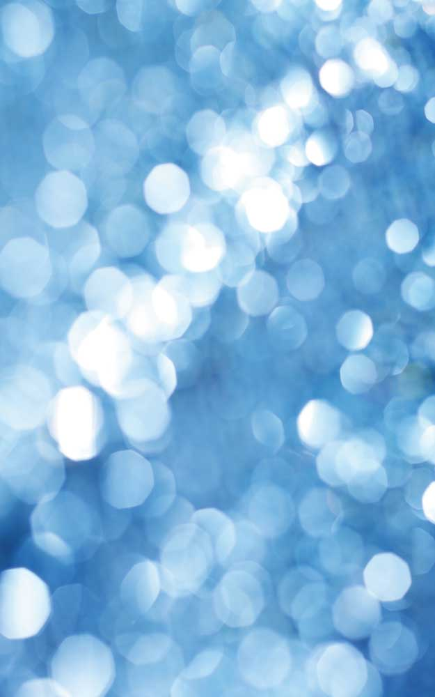 Blue Bokeh Photography Backdrop