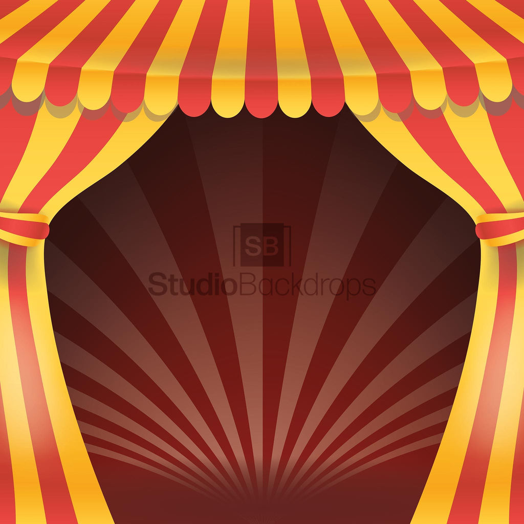 Circus Tent Photo Booth Backdrop Studio Backdrops