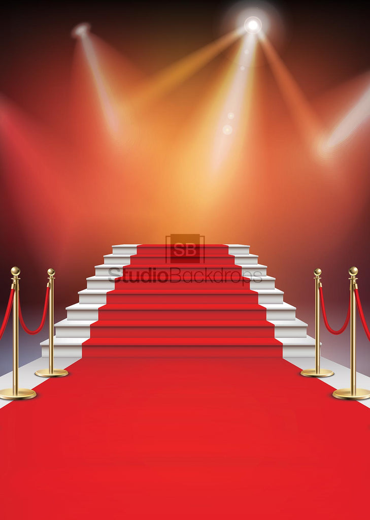Hollywood Red Carpet Photo Booth Backdrop BD-185-SCE