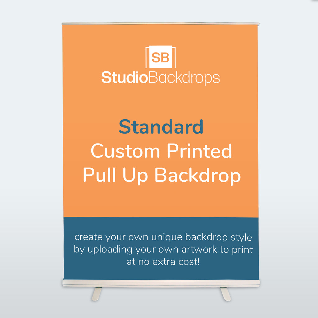 Custom Pull Up Backdrop Standard