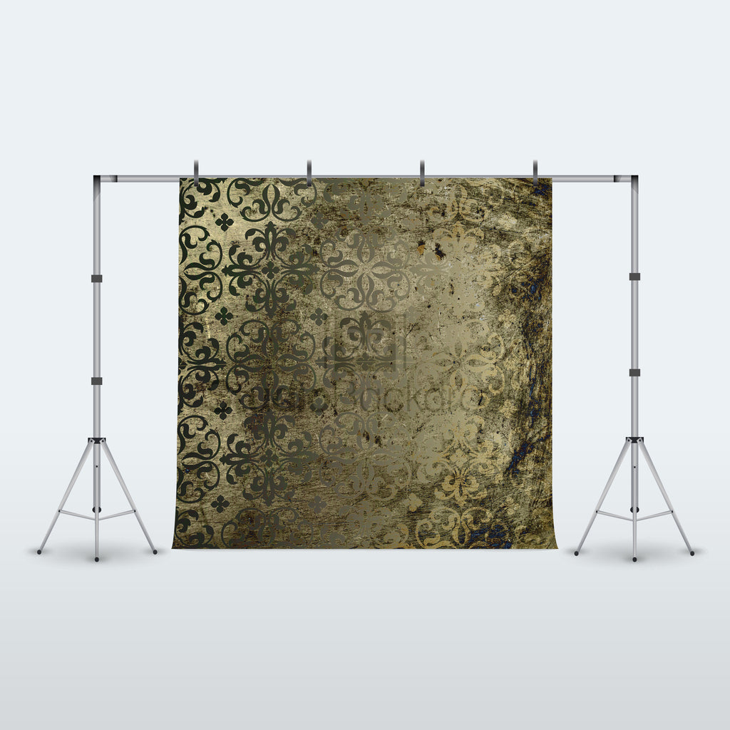 Rusty Vintage Damask Photography Backdrop