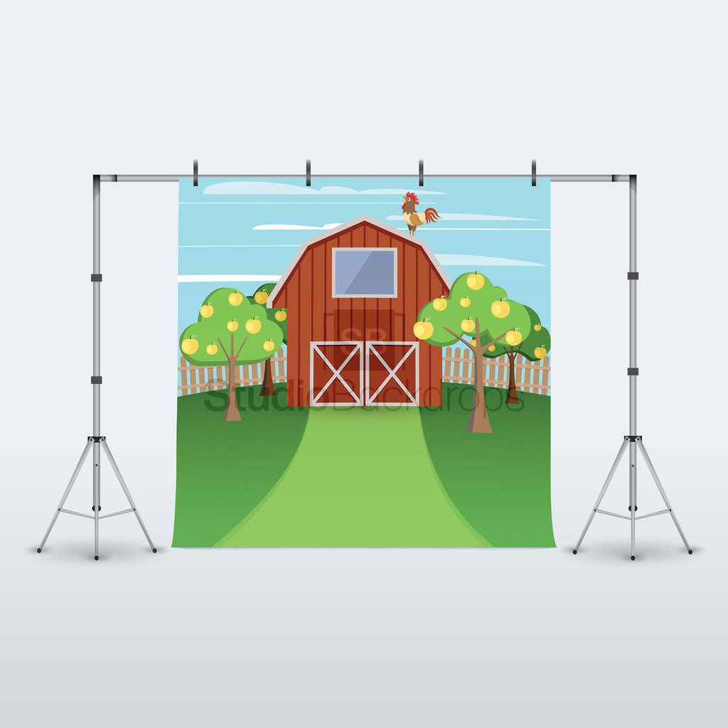 Farmyard Photography Backdrop Studio Backdrops