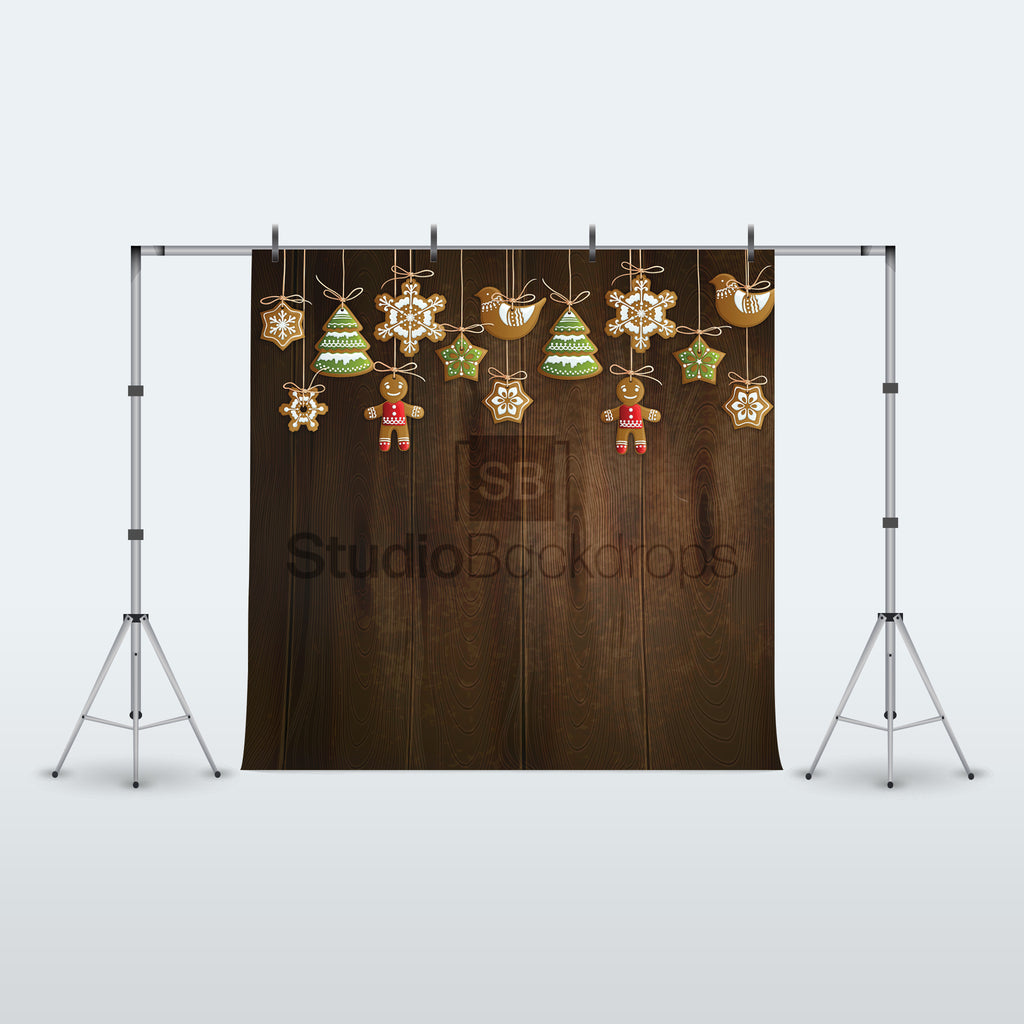 Christmas Decorations Photography Backdrop