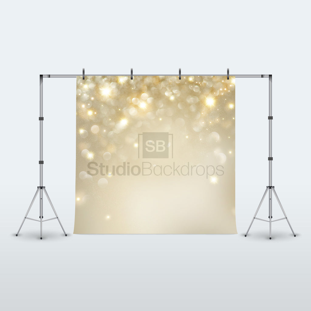 Champagne Bokeh Photography Backdrop