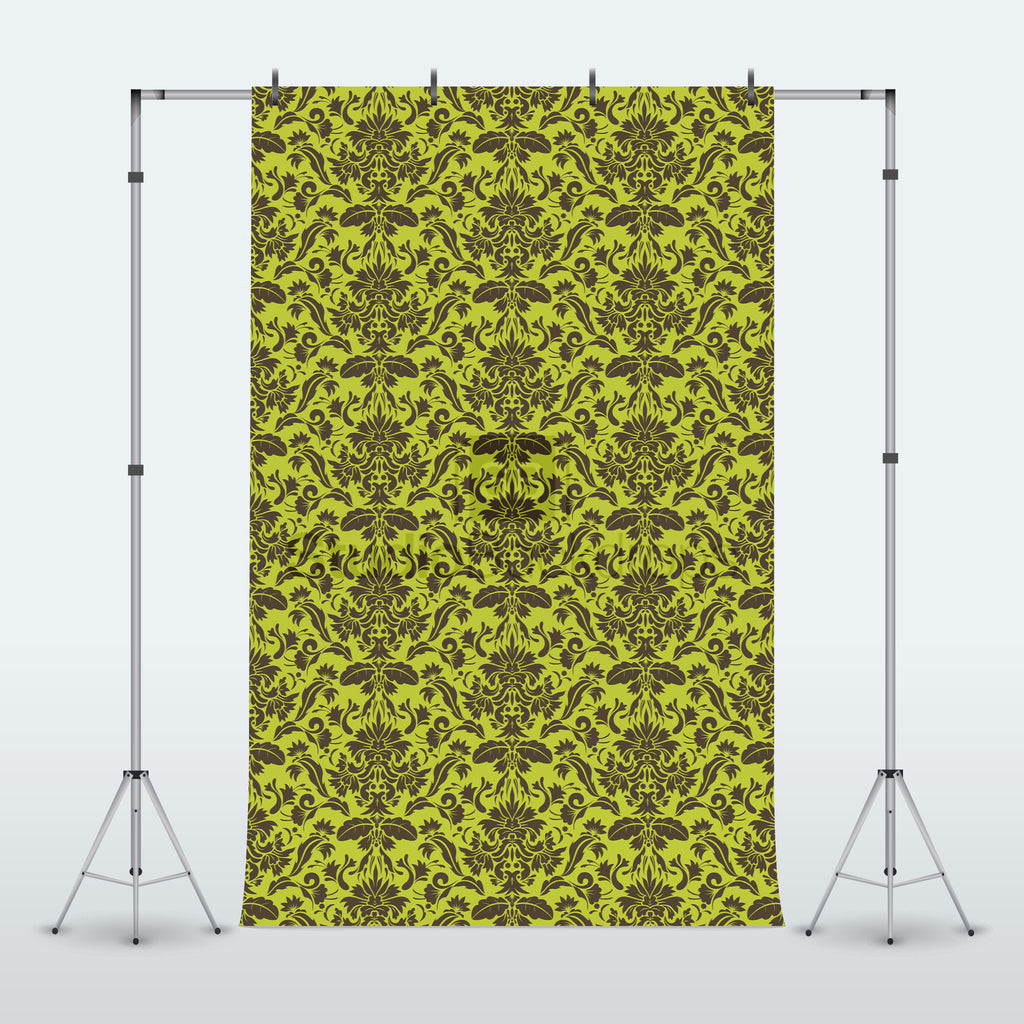 Green and Brown Photography Backdrop