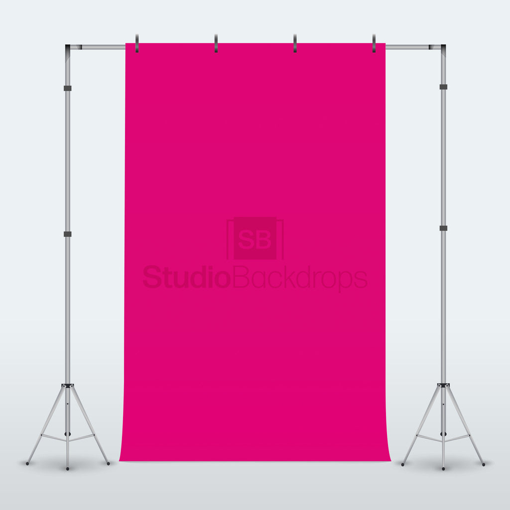 Dark Pink Photography Backdrop