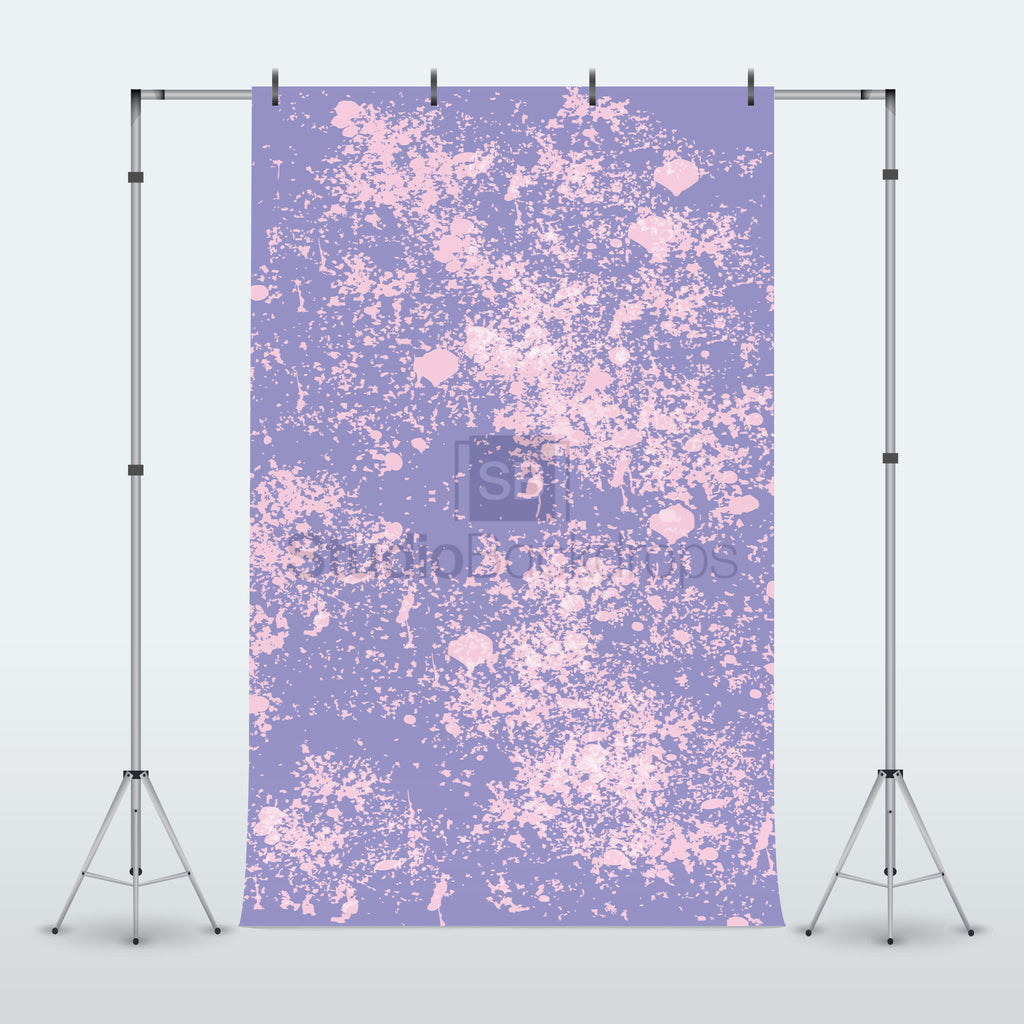 Paint Splatter Photography Backdrop