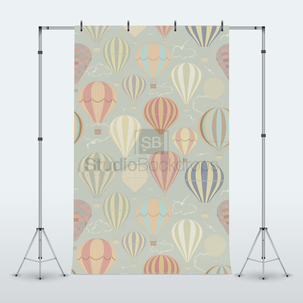 Hot Air Balloon Photography Backdrop