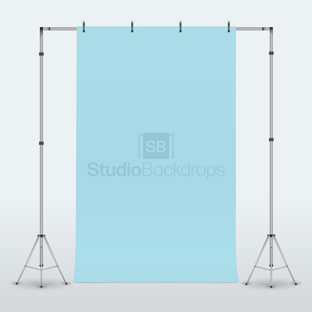 Baby Blue Photography Backdrop