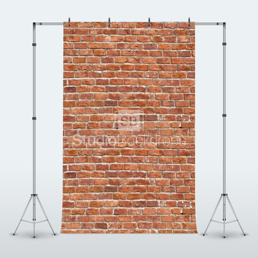 Traditional Brick Wall Photography Backdrop