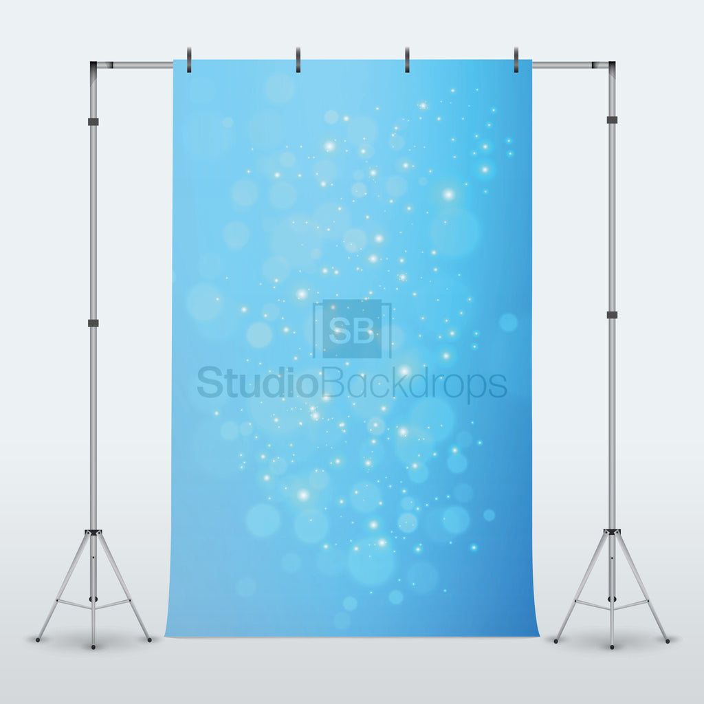 Blue Underwater Bokeh Photography Backdrop