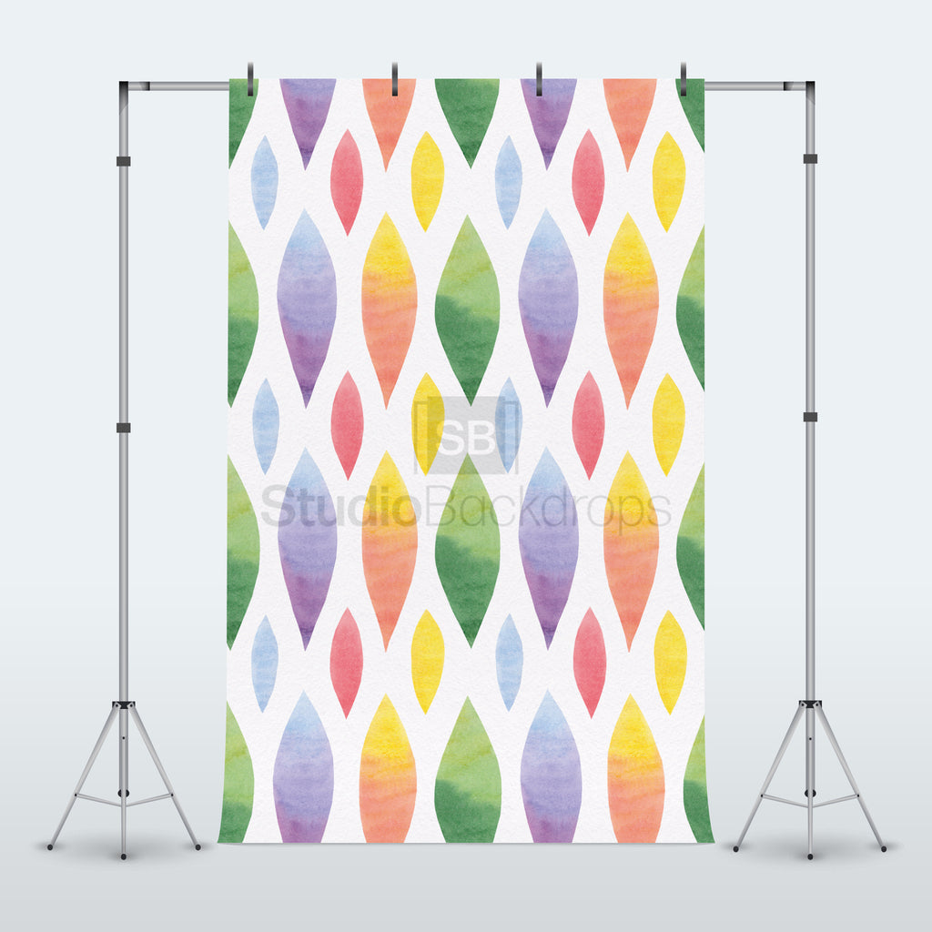 Multi-Colour Pattern Photography Backdrop