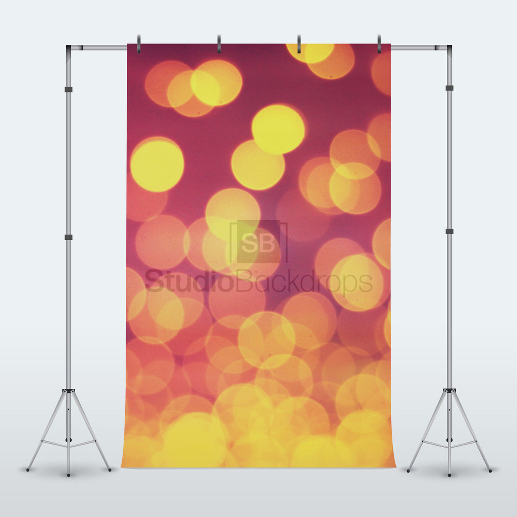 Blurred Lights Photography Backdrop