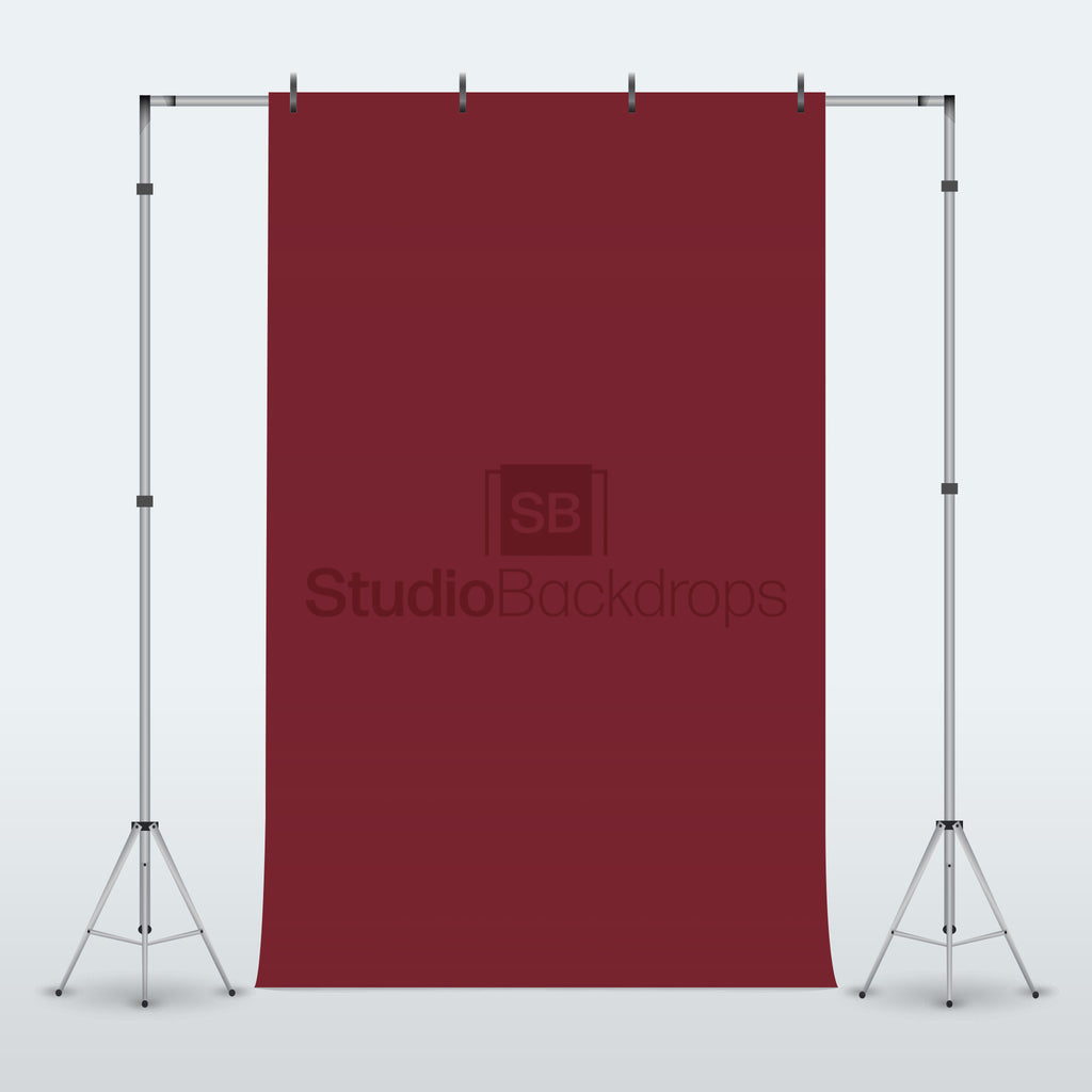 Maroon Photography Backdrop