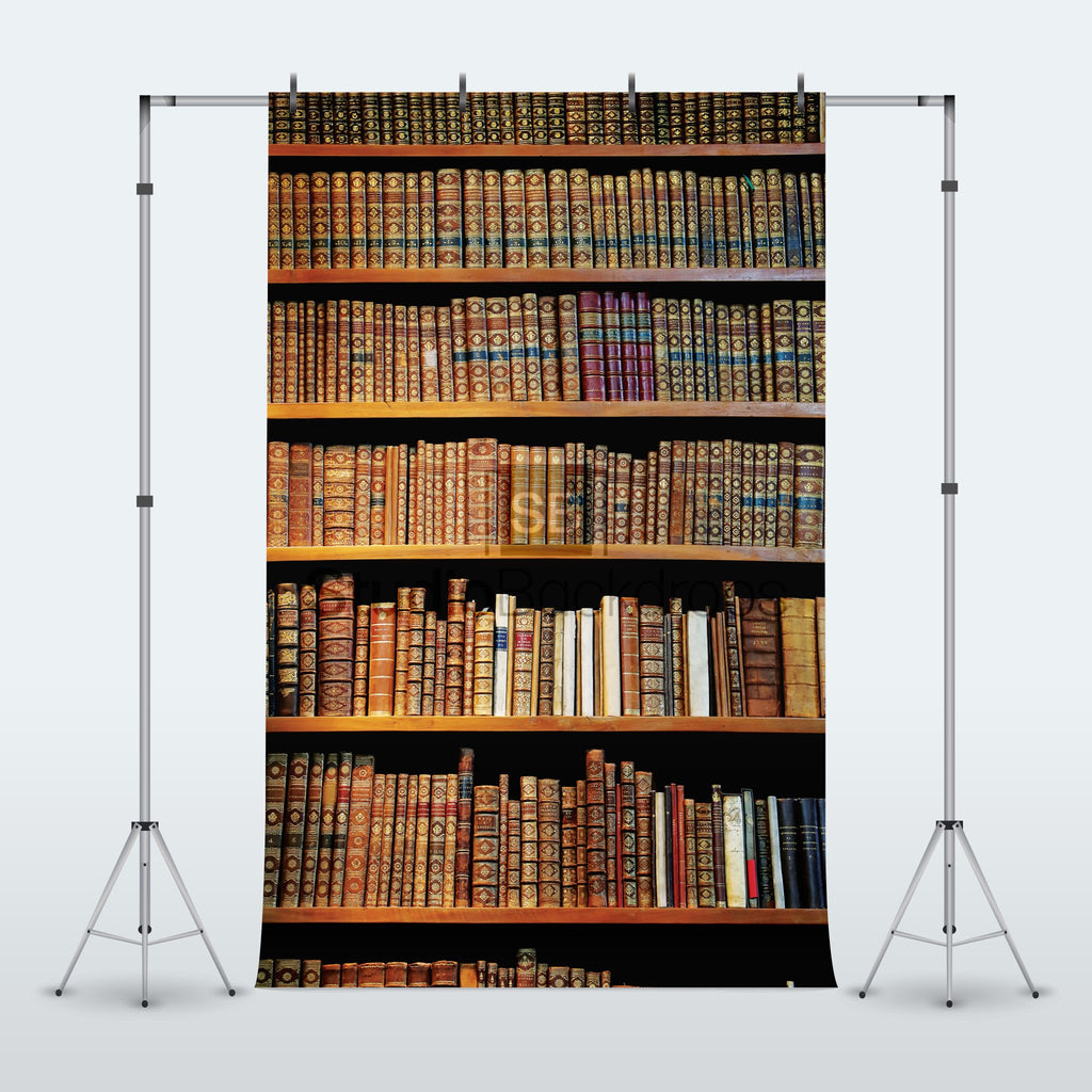 Bookcase Bookshelf Photography Backdrop
