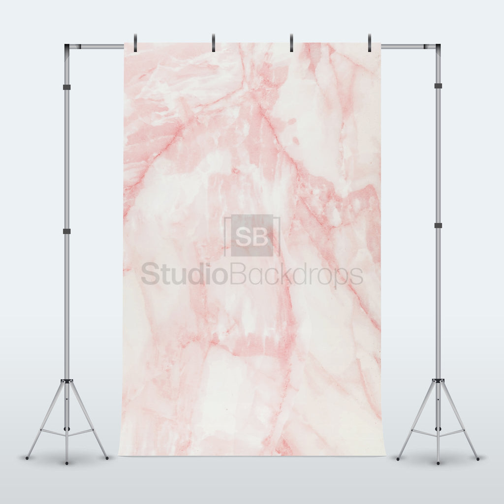 Pink Marble Photography Backdrop Studio Backdrops