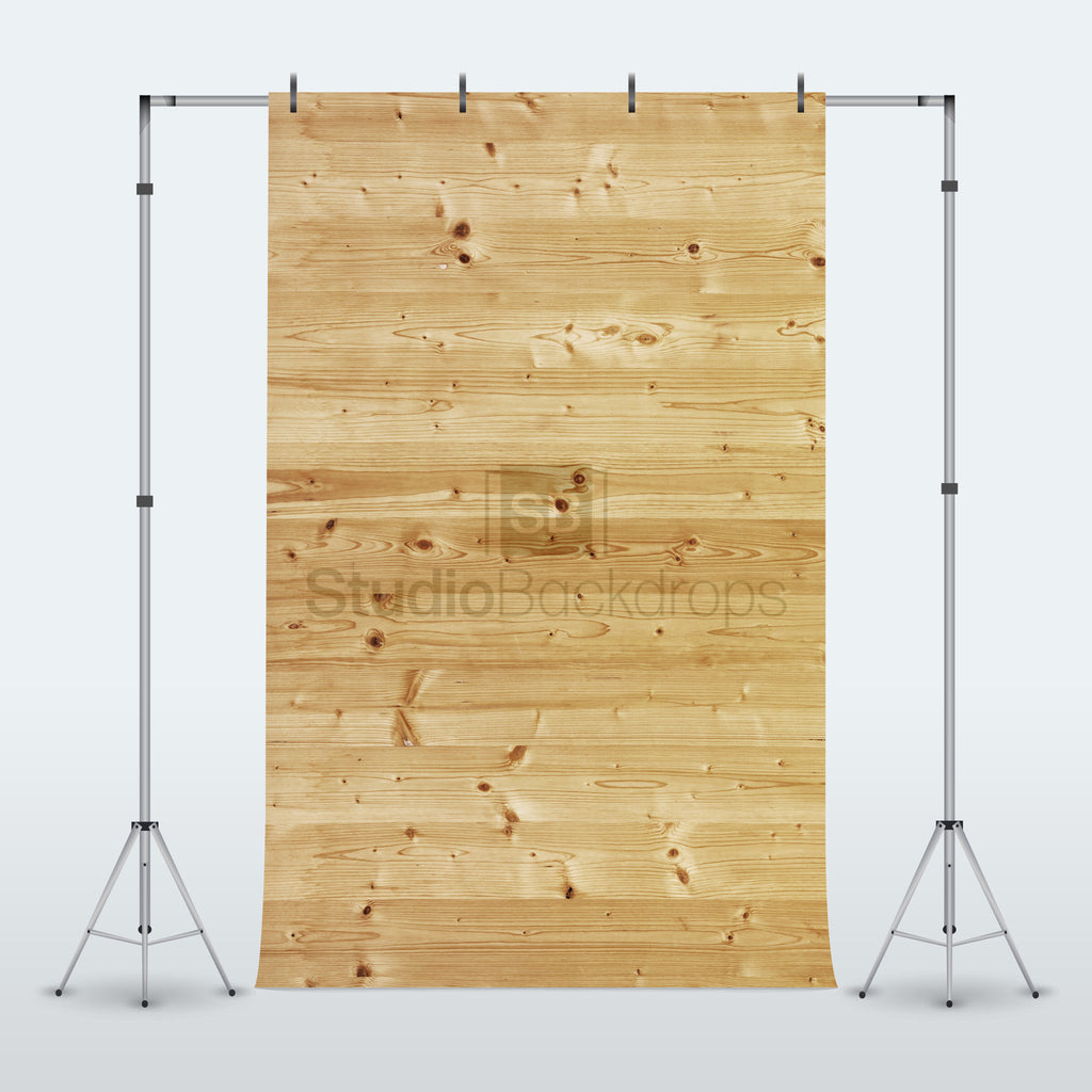 Pine Wood Photography Backdrop
