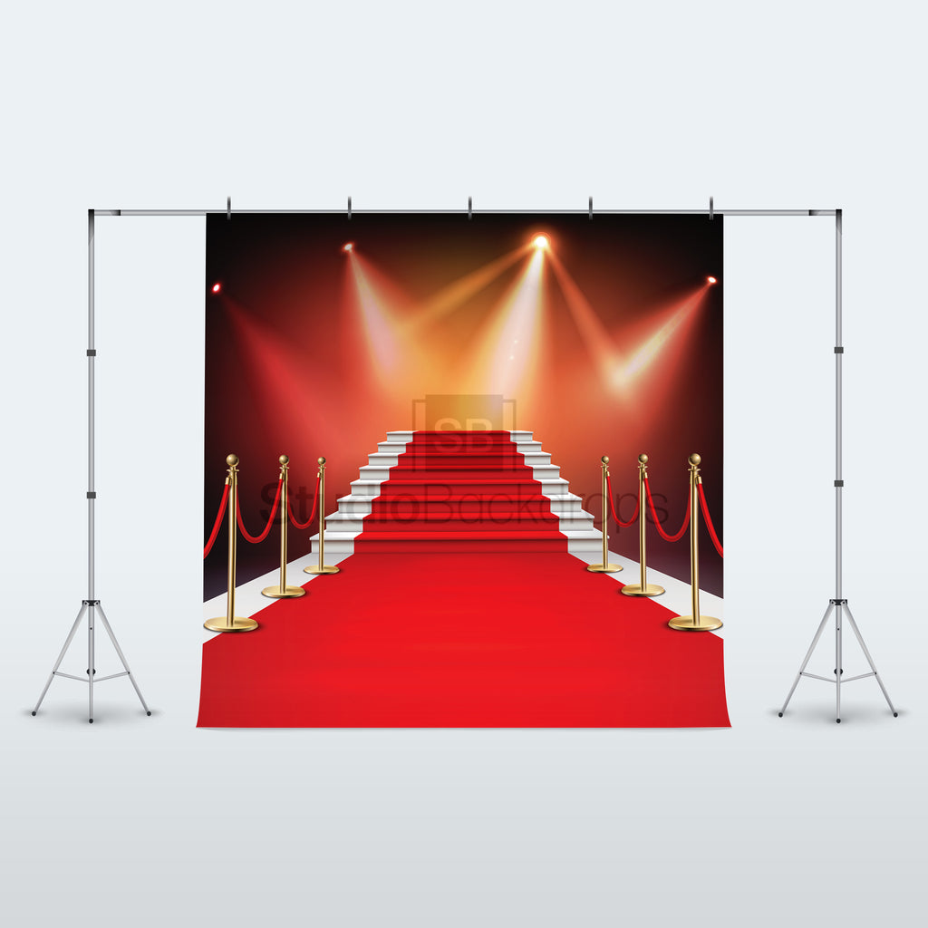 Hollywood Red Carpet Photo Booth Backdrop