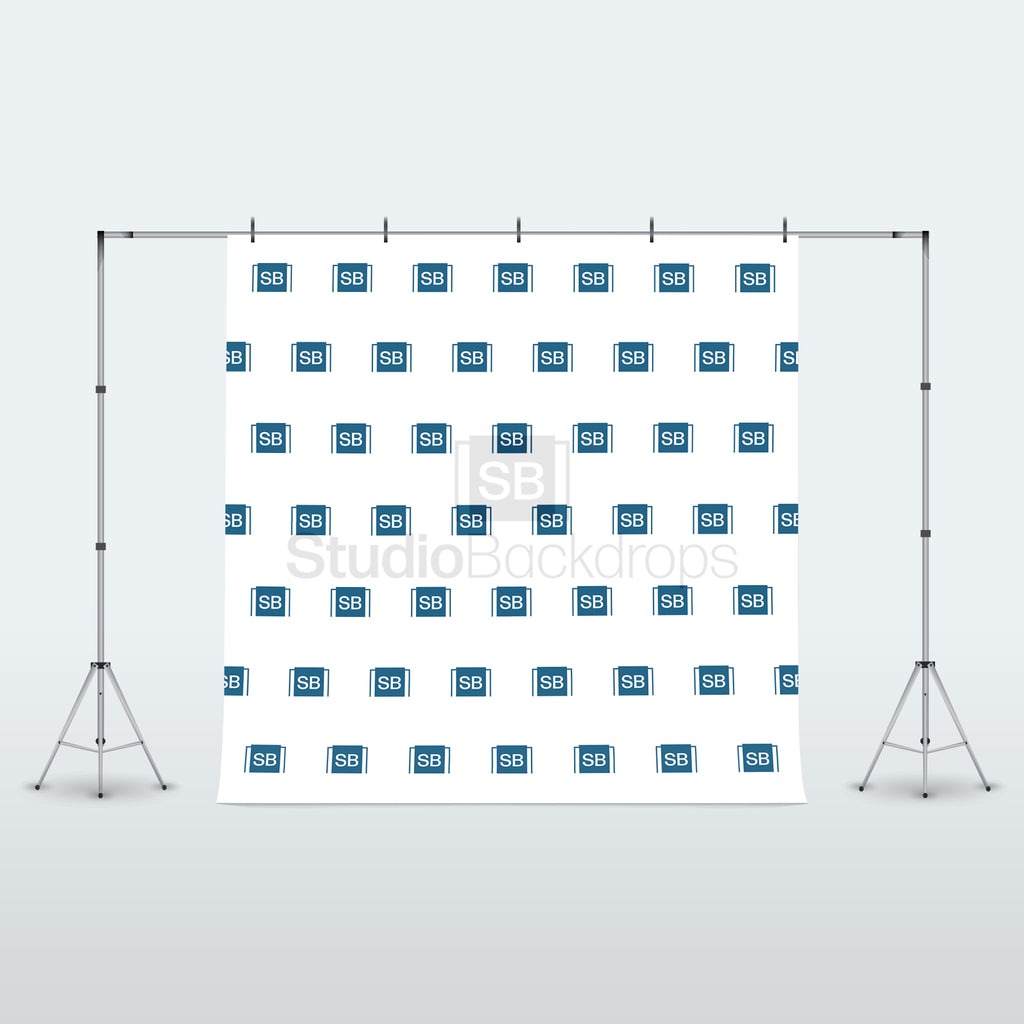 Step and Repeat Logo Photography Backdrop