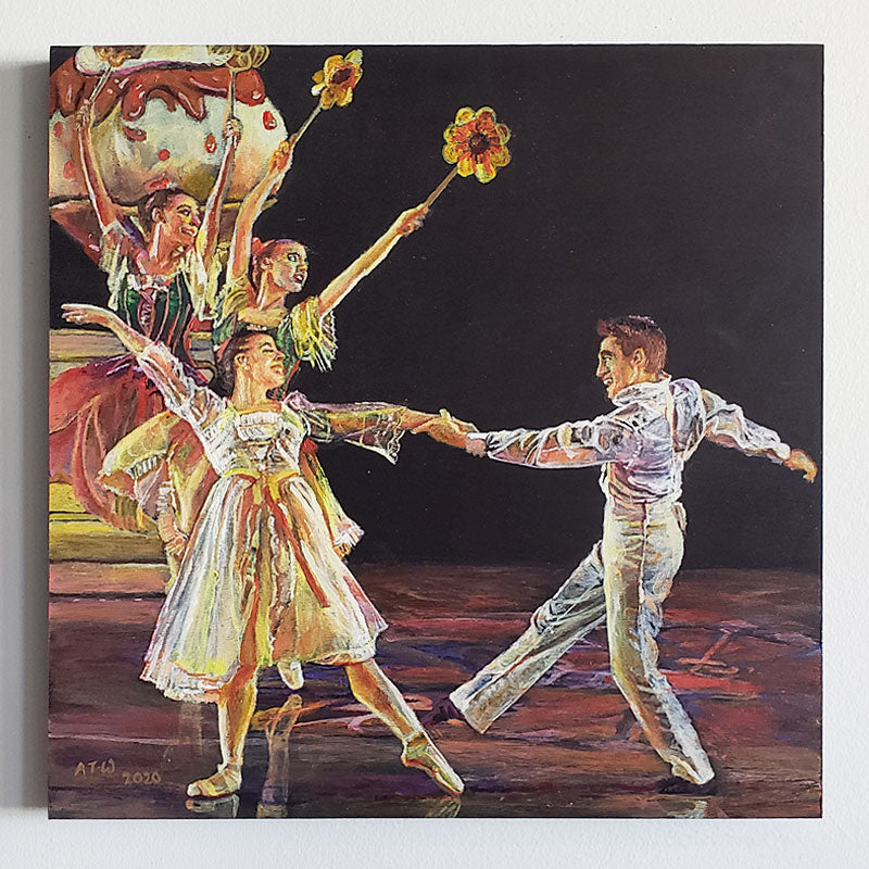 A76: Joy of Dancing with Flowers by Alan Thompson Wallace