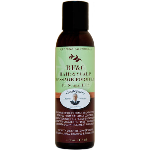 BF&C Hair & Scalp Massage Oil