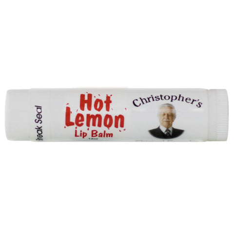 Hot Lemon Lip Balm