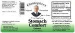 Stomach Comfort Formula Extract Label