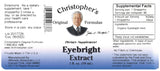 Eyebright Extract Label