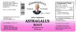 Astragalus Root Capsule Label