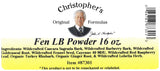 Fen LB Powder Label