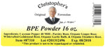 BPE Powder Label