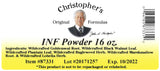 INF Powder Label
