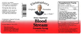 Blood Stream Syrup Label