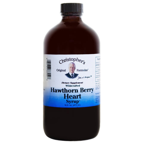Hawthorn Berry Heart Syrup 16 oz.