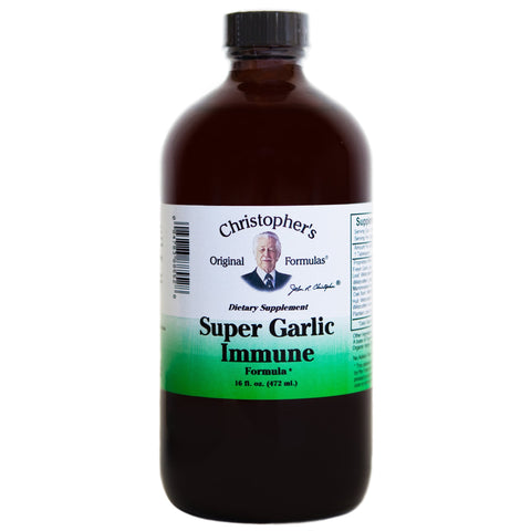 Super Garlic Immune Syrup 16 oz.