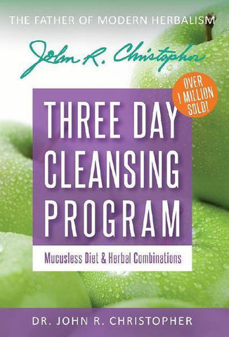 3 Day Cleanse & Mucusless Diet Book