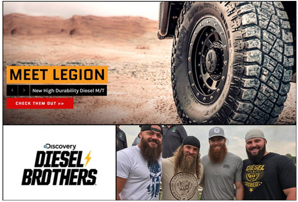 Cooper Tires Announces New Diesel Brothers Season