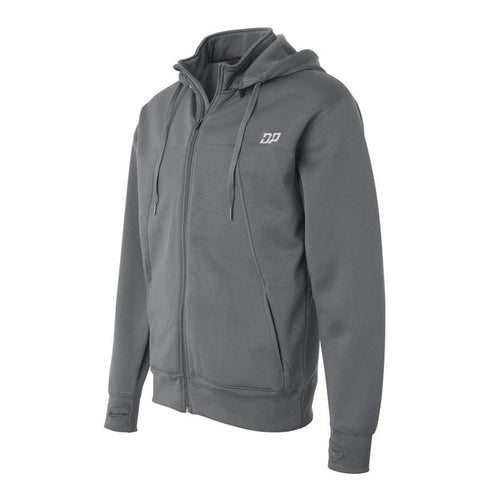 Diesel Power Poly-Tech Hoodie Gray / Small, Hoodie - Diesel Power Gear, Diesel Power Gear  - 1