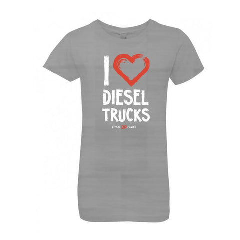 I Love Diesel Trucks - Girls