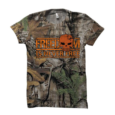 Never Forget Camo , Shirt - Diesel Power Gear, Diesel Power Gear